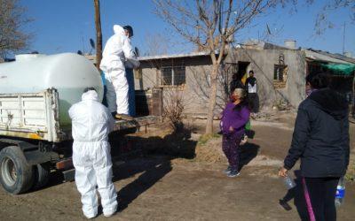 Operativo de prevención en los barrios 26 de enero y Raíces de mi tierra