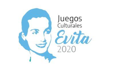 Participá de los juegos culturales mendocinos Evita 2020