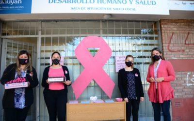 Tunuyán concientiza en el Día Mundial contra el Cáncer de Mama