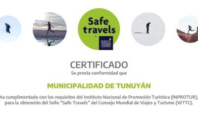Municipalidad de Tunuyán, con sello mundial