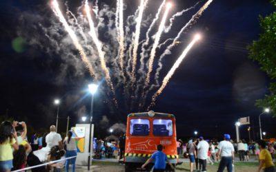 """Quedó formalmente inaugurado el Parque """"Nicolino Locche"""", ubicado en el predio conocido como """"Las Vías"""""""