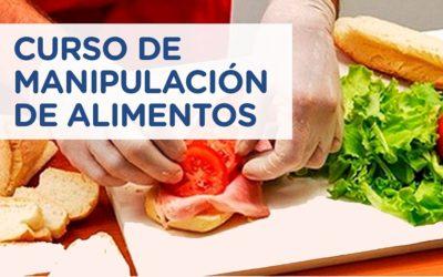Nueva edición del Curso de Manipulación Segura de Alimentos