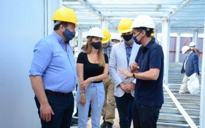 El ministro de Obras Públicas de la Nación visitó Tunuyán y firmó convenios con el Intendente Martín Aveiro