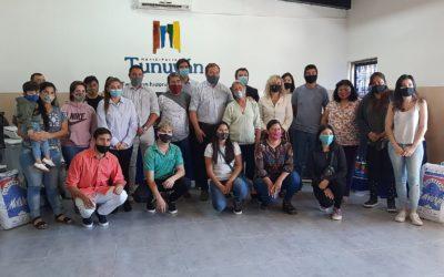 Más beneficios para emprendedores de Tunuyán