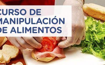 Nuevo curso de Manipulación Segura de Alimentos