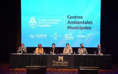 El Gobierno Nacional, en conjunto con el municipio de Tunuyán, anunció la construcción del Centro Ambiental de Tratamiento de Residuos