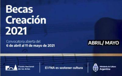Becas Creación 2021: una oportunidad para artistas y hacedores culturales del departamento