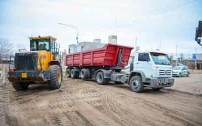 Se suman más de 100 cuadras al ambicioso plan de asfalto de Tunuyán