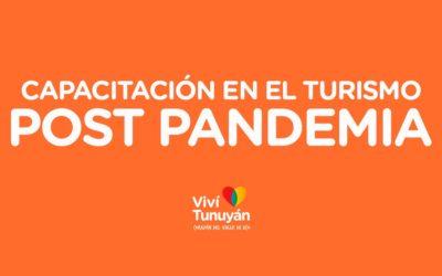 Participá del espacio de capacitación en el turismo post pandemia