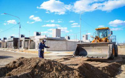 Comienzan las tareas de asfalto en los Barrios Casa Pueblo 1, 2 y 3