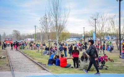 """Con respeto y alegría, Tunuyán vivió el día del estudiante en los """"Puntos Primavera"""""""