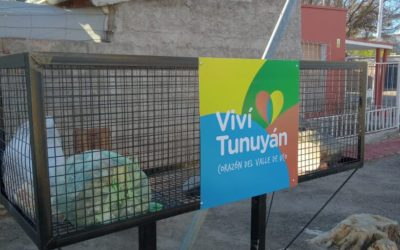 Más acciones para cuidar el Ambiente en Tunuyán