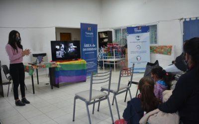"""Un taller de """"Diversidad y deporte"""" se desarrolló en El Algarrobo"""