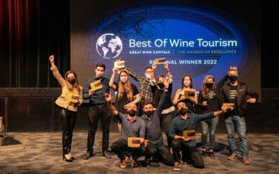 Tunuyán obtuvo 4 premiaciones en el Best of Mendoza's Wine Tourism