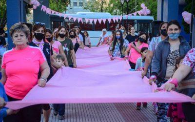 El municipio concientizó sobre la prevención de cáncer de mama